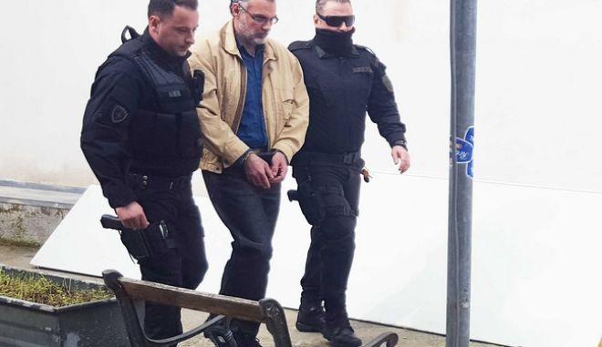 Δίκη σε δεύτερο βαθμό της υπόθεσης της δολοφονίας του Αλέξη Γρηγορόπουλου, με κατηγορούμενο τον Επαμεινώνδα Κορκονέα, στο Μικτό Ορκωτό Εφετείο της Λαμίας (EUROKINISSI)
