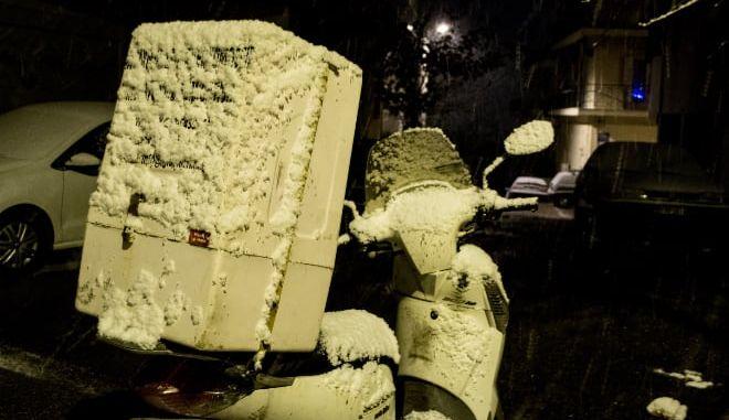 Μεροκάματο στο χιόνι - H άγρια όψη του delivery