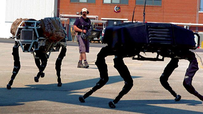 Google: Επικίνδυνα παιχνίδια με ρομπότ