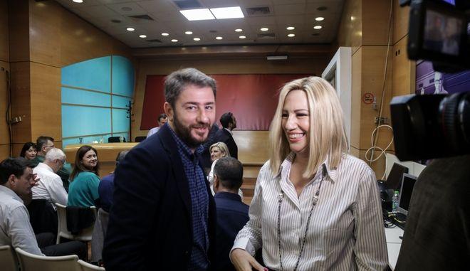 Φώφη Γεννηματά - Νίκος Ανδρουλάκης
