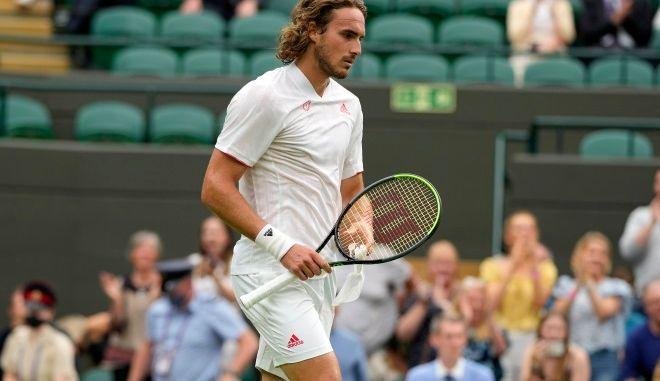 Τσιτσιπάς: Αποκλεισμός - σοκ στον πρώτο γύρο του Wimbledon
