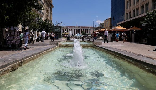 Καλοκαίρι στο κέντρο της Αθήνας