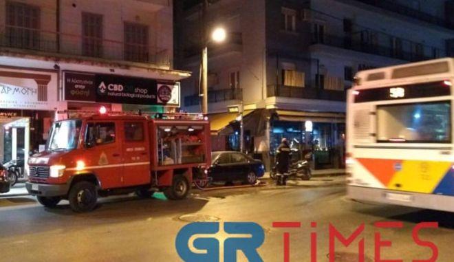 Θεσσαλονίκη: Φωτιά σε υπόγειο καταστήματος