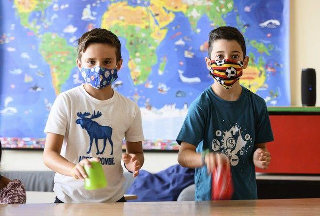 Μαθητές στο Μάιντζ της Γερμανίας
