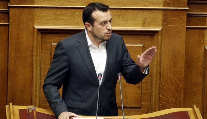Προ ημερησίας διατάξεως συζήτηση για τη διαφθορά και τη διαπλοκή στη Βουλή, την Δευτέρα 10 Οκτωβρίου 2016.  (EUROKINISSI/ΚΟΝΤΑΡΙΝΗΣ ΓΙΩΡΓΟΣ)