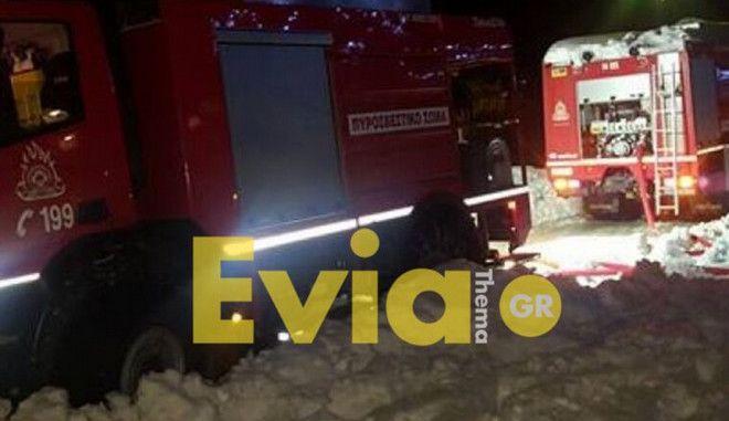 Εύβοια: Ζευγάρι πήγε να δει το χιόνι και χάθηκε