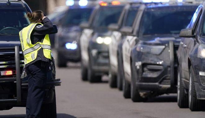 Αστυνομία στις ΗΠΑ (φωτογραφία αρχείου)