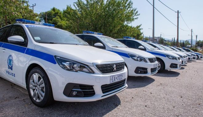 Περιπολικά της Ελληνικής Αστυνομίας