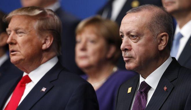 Τραμπ και Ερντογάν (ΦΩΤΟ Αρχείου)