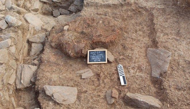 Προϊστορικός οικισμός στην Κάρυστο
