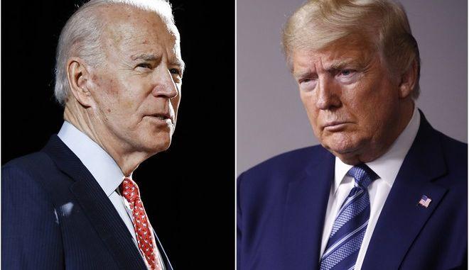 Μπάιντεν εναντίον Τραμπ στις εκλογές των ΗΠΑ