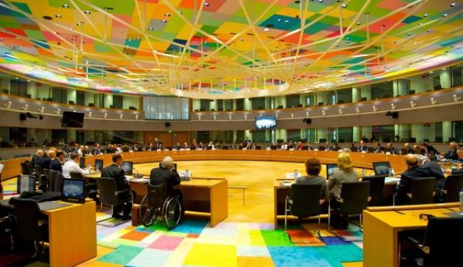 Φωτογραφίες: Η καινούργια ψυχεδελική αίθουσα του Eurogroup