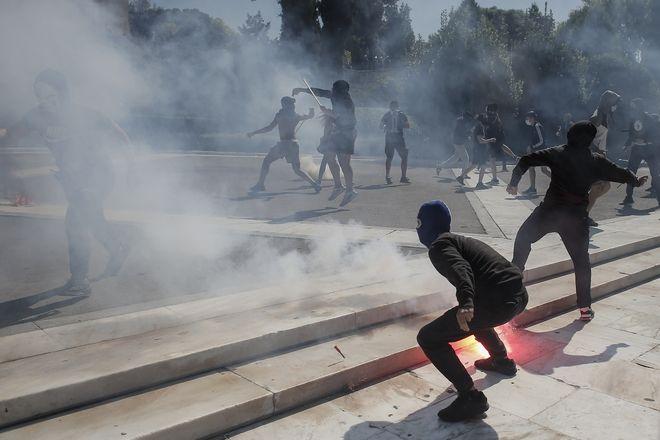 Επεισόδια κατά το Πανεκπαιδευτικό Συλλαλητήριο