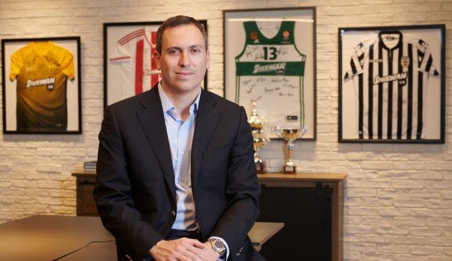 Ο επιχειρηματίας κ. Γιώργος Δασκαλάκης, CEO της Stoiximan