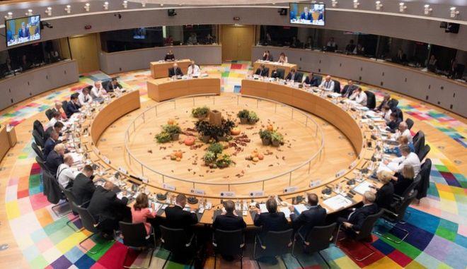 Σύνοδος Κορυφής των κρατών-μελών της ΕυρωπαΪκής Ένωσης,Πέμπτη 17 Οκτωβρίου 2019.