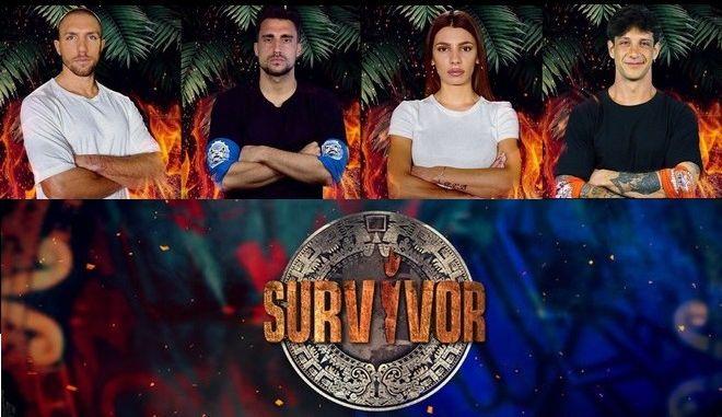 Οι 4 φιναλίστ του Survivor 4