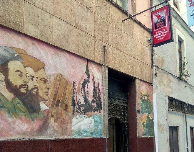 Κομματικά γραφεία στην παλιά Αβάνα