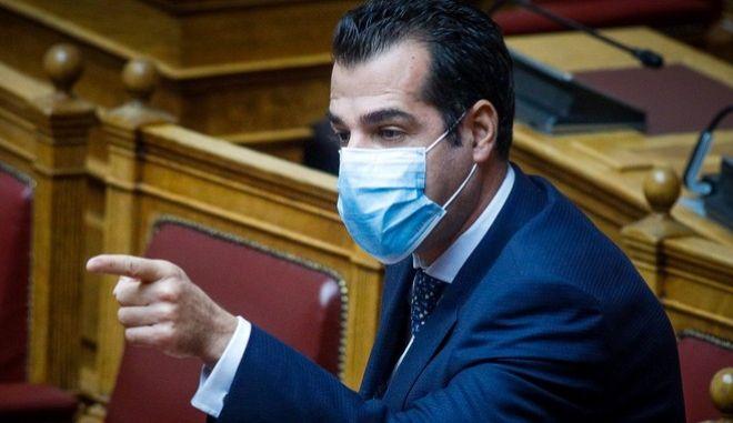Ο Υπουργός Υγείας, Θάνος Πλεύρης