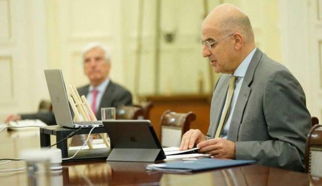 Καταδίκη των τουρκικών ενεργειών στην Κυπριακή ΑΟΖ από τους ΥΠΕΞ Ελλάδας, Κύπρου, Αιγύπτου, Γαλλίας και ΗΑΕ