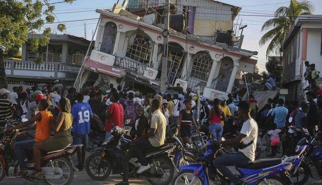 Σεισμός στην Αϊτή: Ξεπέρασαν τους 300 οι νεκροί, σχεδόν 2.000 τραυματίες - Ισχυροί μετασεισμοί