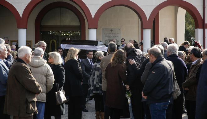 Κηδεία του Αντώνη Λάνθιμου