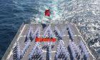 """""""Γαλάζια πατρίδα"""" και σε πολεμικό πλοίο των Τούρκων-Αποκαλυπτικές φωτογραφίες"""