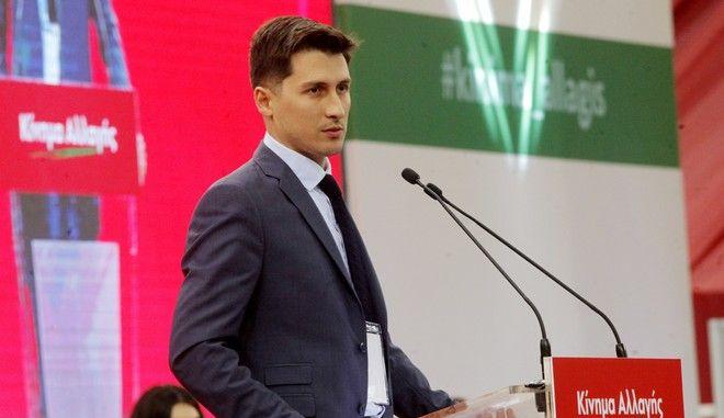 Ο εκπρόσωπος Τύπου του ΚΙΝΑΛ, Παύλος Χρηστίδης