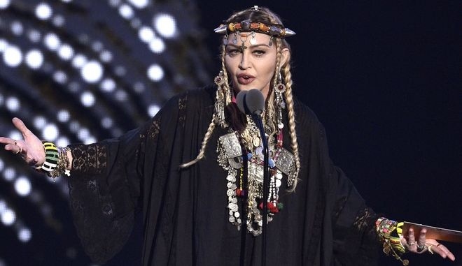 Η Μαντόνα στα βραβεία MTV (Φωτογραφία αρχείου)