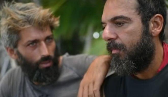Survivor 4: Τριαντάφυλλος Χατζηνικολάου και Αλέξης Παππάς