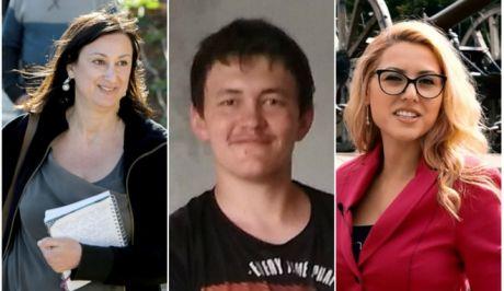 Οι τρεις δημοσιογράφοι που δολοφονήθηκαν στην ΕΕ τον τελευταίο χρόνο