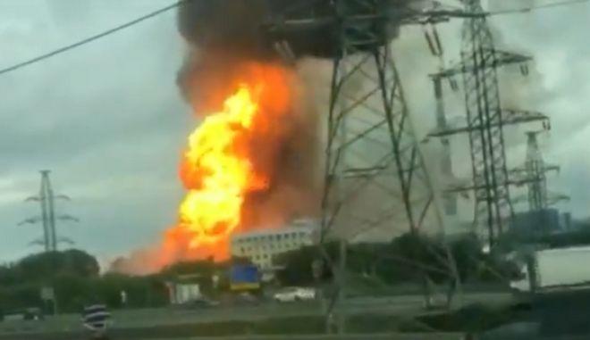 Μεγάλη φωτιά στη Ρωσία