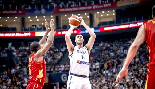 ΜΟΥΝΤΟΜΠΑΣΚΕΤ / ΚΙΝΑ / ΠΑΓΚΟΣΜΙΟ ΚΥΠΕΛΛΟ 2019 / ΕΛΛΑΔΑ - ΜΑΥΡΟΒΟΥΝΙΟ (ΦΩΤΟΓΡΑΦΙΑ: FOR EDITORIAL USE ONLY / FIBA.COM)