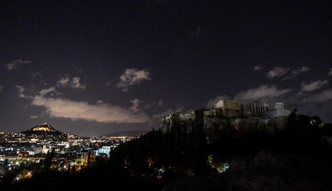 """Σβηστά τα φώτα της Ακρόπολης για την """"Ώρα της Γης"""""""