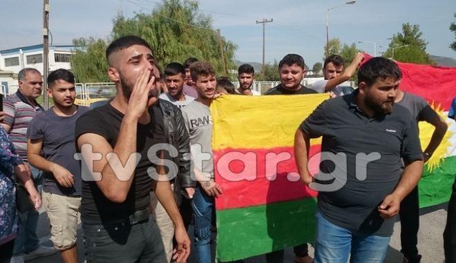 Κούρδοι στη Ριτσώνα