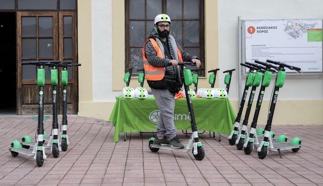 Πρώτη μέρα του Eco-Fest 2020, τη γιορτή που είναι αφιερωμένη στις Πράσινες Πόλεις, τη Βιώσιμη Ανάπτυξη και την Ηλεκτροκίνηση το Σάββατο 18 Ιανουαρίου 2020.