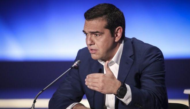 Συνέντευξη τύπου του Πρωθυπουργού ΑΛέξη Τσίπρα στην 83Η Διεθνή Έκθεση Θεσσαλονίκης, την Κυριακή 9 Σεπτεμβρίου 2018