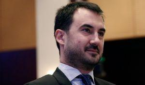 ο Αναπληρωτής Υπουργός Οικονομίας και Ανάπτυξης, Αλέξης Χαρίτσης