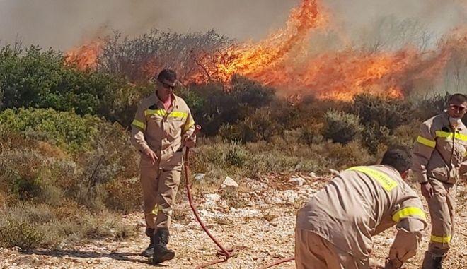 Πυρκαγιά στη Ζάκυνθο