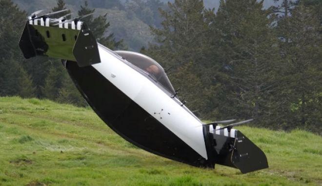 Η τελευταία προσπάθεια για ιπτάμενο αυτοκίνητο εντυπωσιάζει