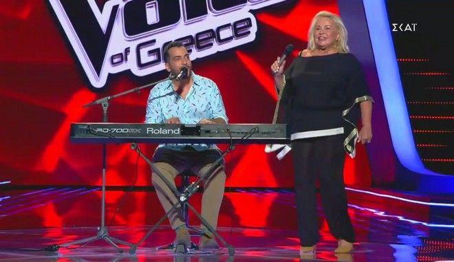 """Η Μπέσσυ Αργυράκη στο """"The Voice"""""""