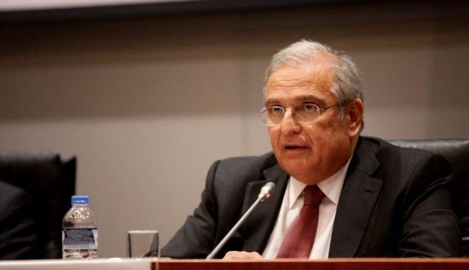 O πρώην υπουργός Οικονομίας και Οικονομικών Γιάννης Παπαθανασίου.