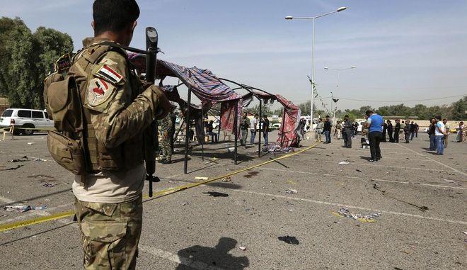 Βομβιστική επίθεση στη Βαγδάτη