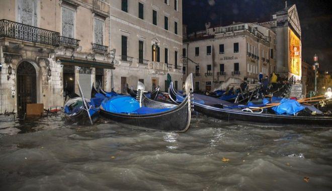 Η πλημμυρισμένη Βενετία
