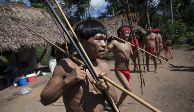Ιθαγενείς της φυλής Γιανομάμι