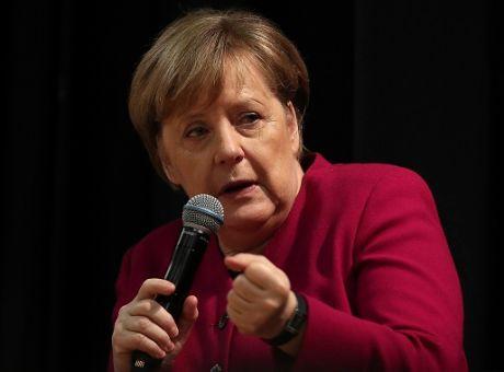 Η Γερμανίδα καγκελάριος κατά την επίσκεψή της στην Ελλάδα