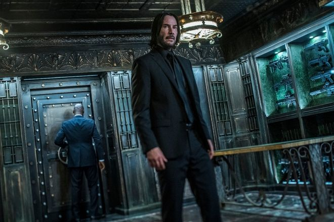Keanu Reeves stars as 'John Wick'