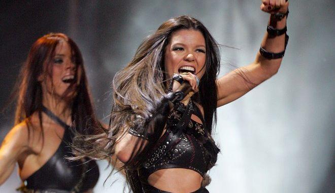 Η Ρουσλάνα στη Eurovision το 2004