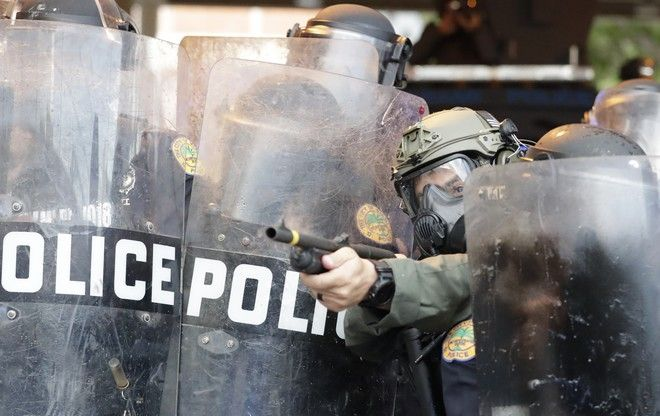 Διαδηλώσεις στο Μαϊάμι για τη δολοφονία του Τζορτζ Φλόιντ