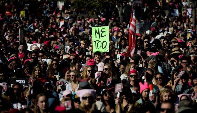 Γυναικεία πορεία ενάντια στη σεξουαλική βία στο Λος Άντζελες (φωτογραφία αρχείου)