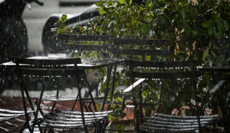 Καταιγίδα στην Αθήνα